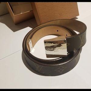 Louis Vuitton Accessories - Louis Vuitton Monogram Belt